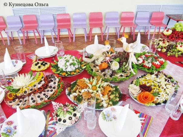 Как оформить праздничный стол к